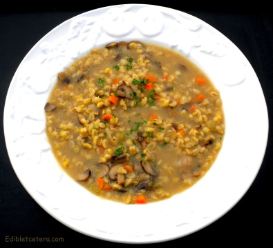 Mushroom & Barley Soup