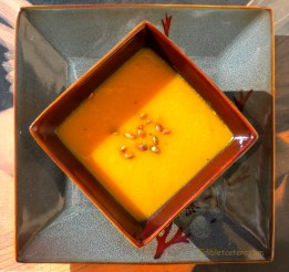Sweet Potato, Ginger & Butternut Soup