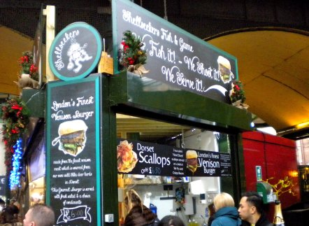 Borough Market, Christmas 2016