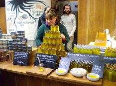 Truffle-scented honey