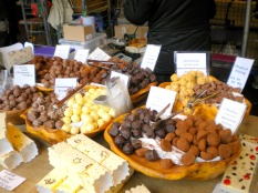 Truffles of the sweet variety