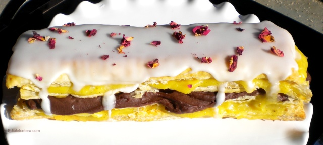 Vanilla & Chocolate Millefeuille
