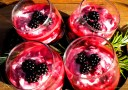 Rosemary Scented Blackberry Fool