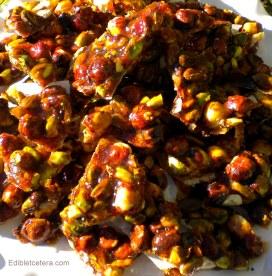 'Croccante di Nocciole E Pistacchi' ~ Tuscan Hazelnut & Pistachio Crunch