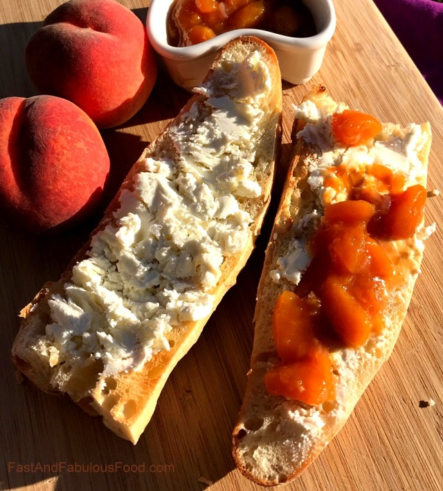 Spiced Peach Chutney